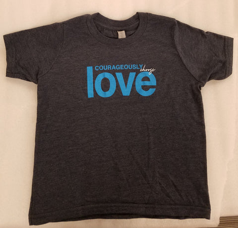 Courageously Choose Love Child T-shirt