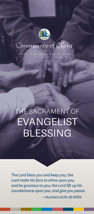 The Sacrament of Evangelist Blessing - Brochure (English)
