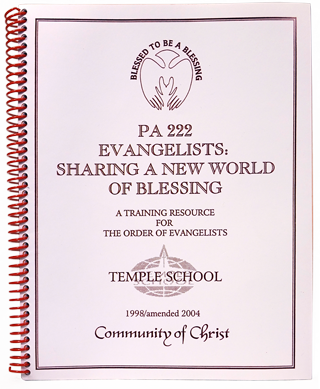 Evangelists: Sharing a New World of Blessing
