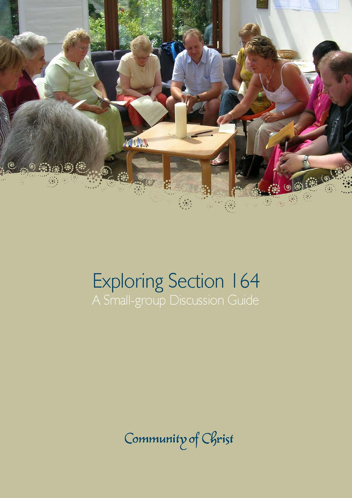 Exploring Section 164 A Small-group Discussion Guide (PDF Download)