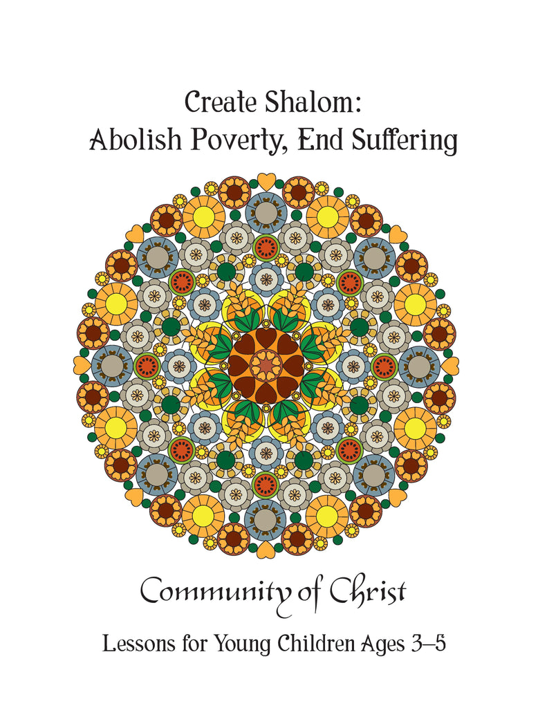 Create Shalom: Lessons for Young Children (PDF Download)