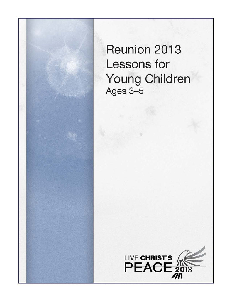 Live Christ's Peace Lessons for Young Children (PDF Download)