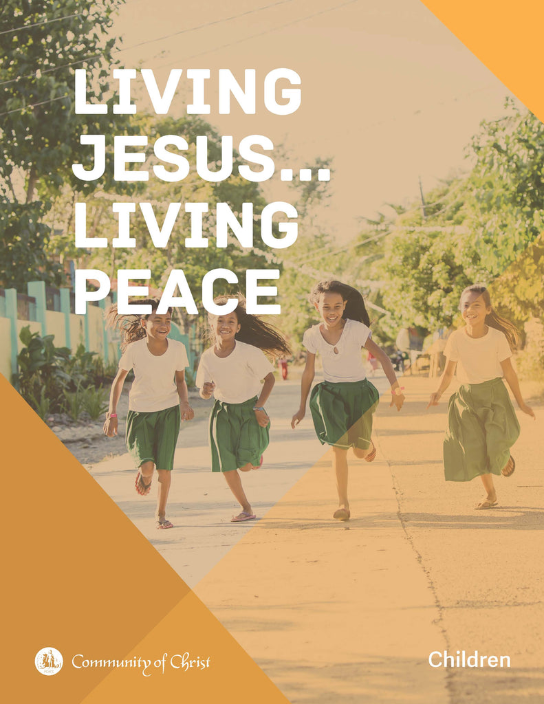 Living Jesus...Living Peace Children's Activity Guide (PDF Download)
