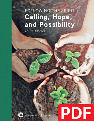 Following the Spirit:  Calling, Hope, and Possibility (PDF Download)
