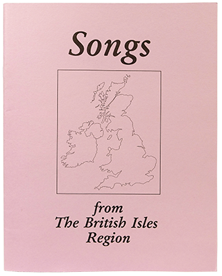 Songs from The British Isles Region