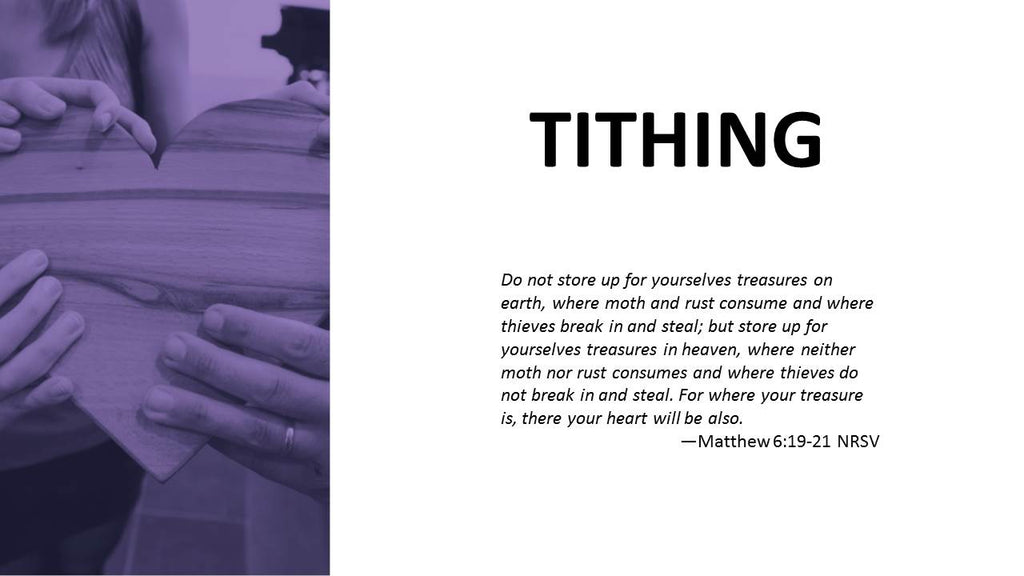 Tithing Brochure Presentation (Powerpoint)