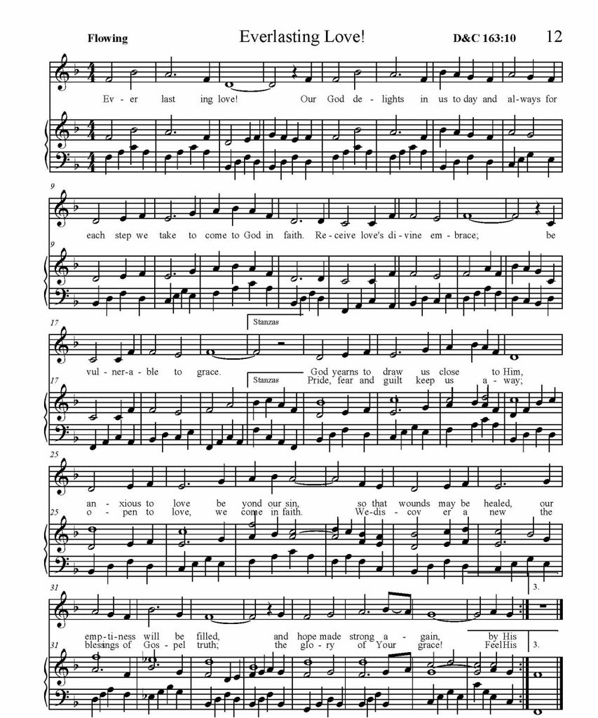 Everlasting Love Sheet Music (PDF Download) – Herald Publishing House