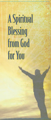A Spiritual Blessing from God for You - Brochure