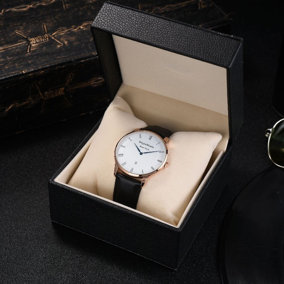 in saat style wristwatches fashionable male from item casual men s luxury nibosi watches for new watch quartz dress military