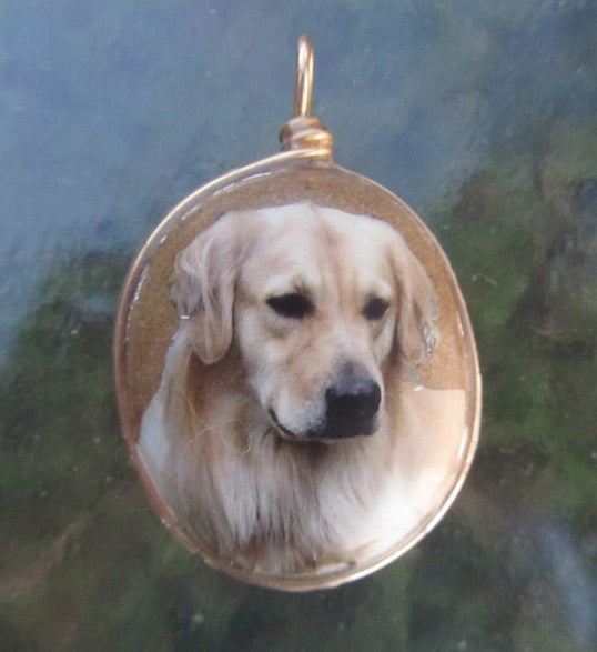 Custom - family dog on black cord or no cord