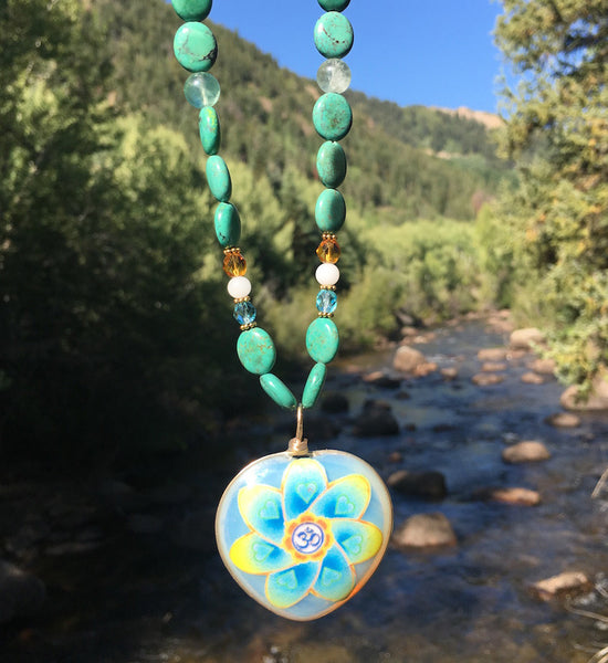 Om Turquoise on the River