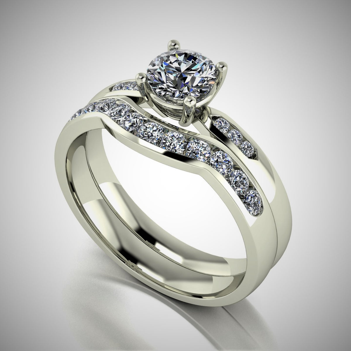 Moissanite Set rings