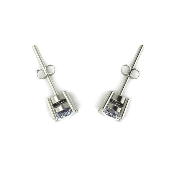 1.00ct (2x 4.5mm) Cushion Moissanite Set Earrings