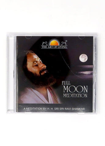 Full Moon - Guided Meditation by Sri Sri Ravi Shankar (CD)