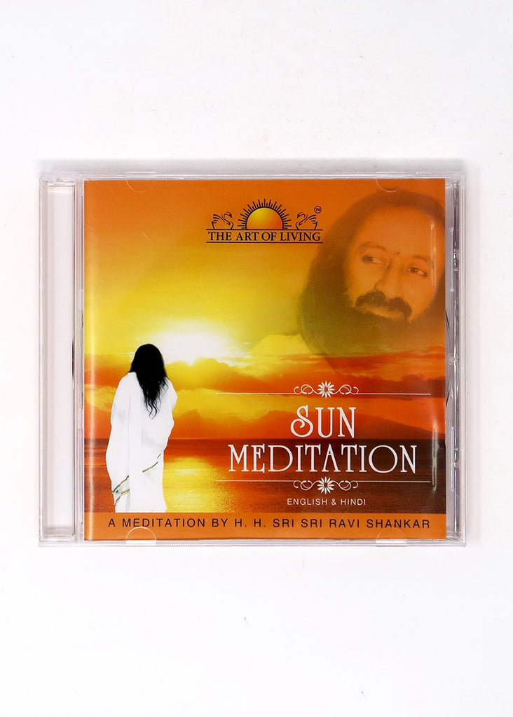Sun - Guided Meditation by Sri Sri Ravi Shankar (CD)
