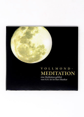Vollmond Meditation - Sri Sri Ravi Shankar (CD)