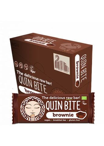 Quin Bite - Brownie (12er Pack)