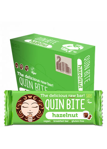 Quin Bite - Haselnut (12er Pack)