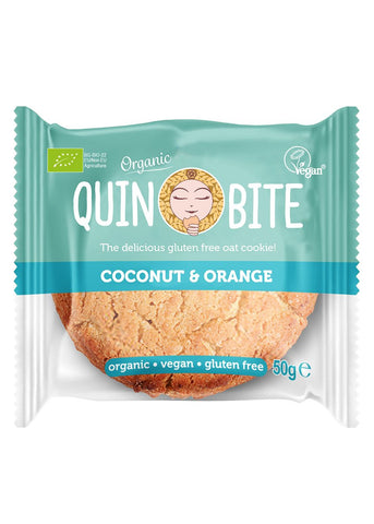 Quin Bite cookies, Orange