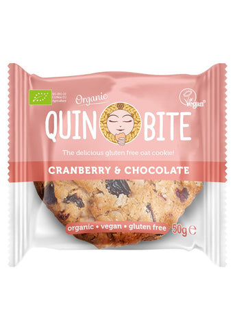 Quin Bite cookies, Cranberry