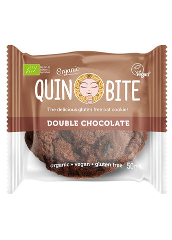 Quin Bite cookies, Double chocolate