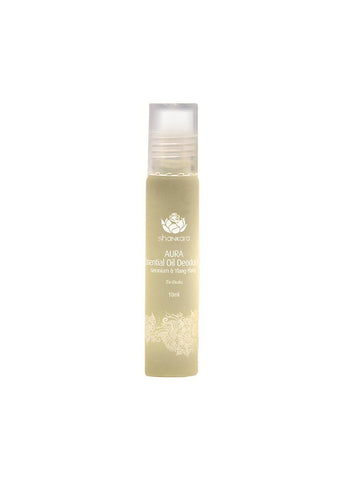 Shankara Aura Essential Oil Deodorant with Geranium and Ylang Ylang - 10 ml