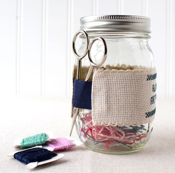 Make an ort jar and scissor holder