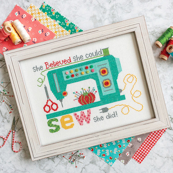New vintage-inspired cross stitch patterns by Lori Holt