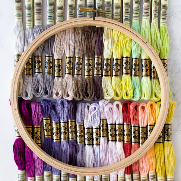 35 new embroidery floss colors from DMC