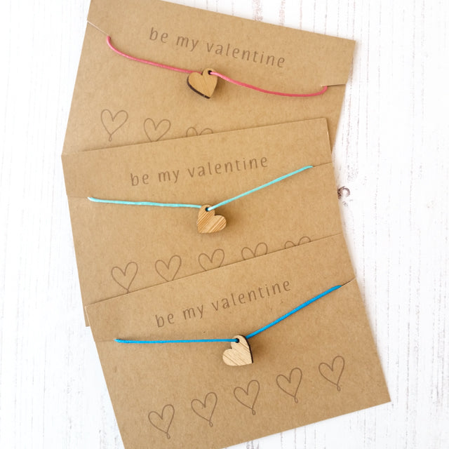 Quick and easy friendship bracelets for Valentine's Day