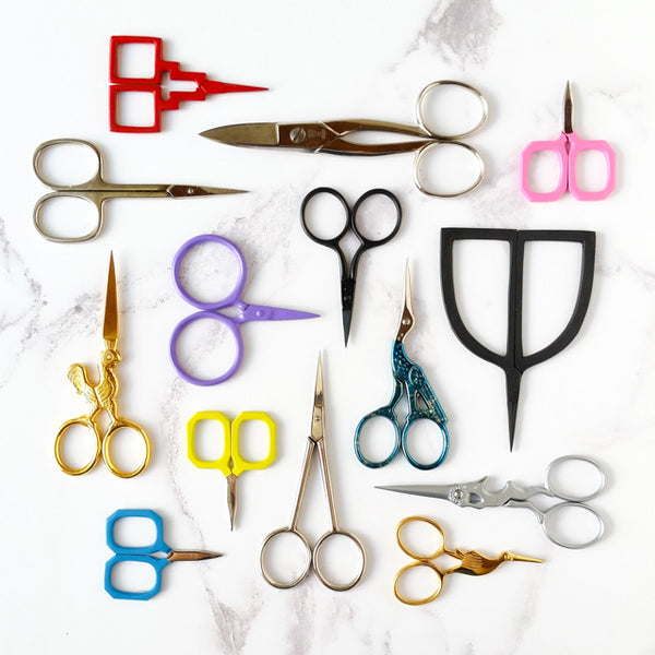Why you need a good pair of embroidery scissors