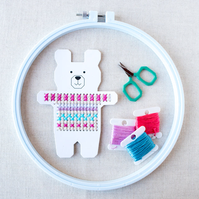 Gift guide: Cross stitch kits and supplies for kids