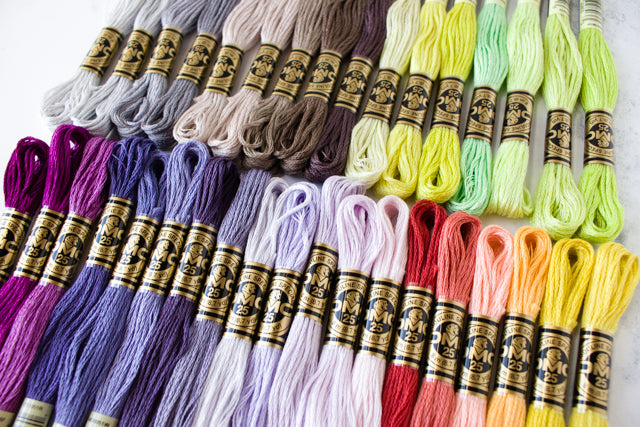 image about Dmc Floss Color Chart Printable known as 35 refreshing embroidery floss shades in opposition to DMC Sched Impressive