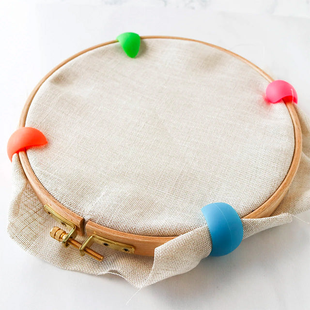 An essential guide to embroidery hoops: When, why, and how to use them