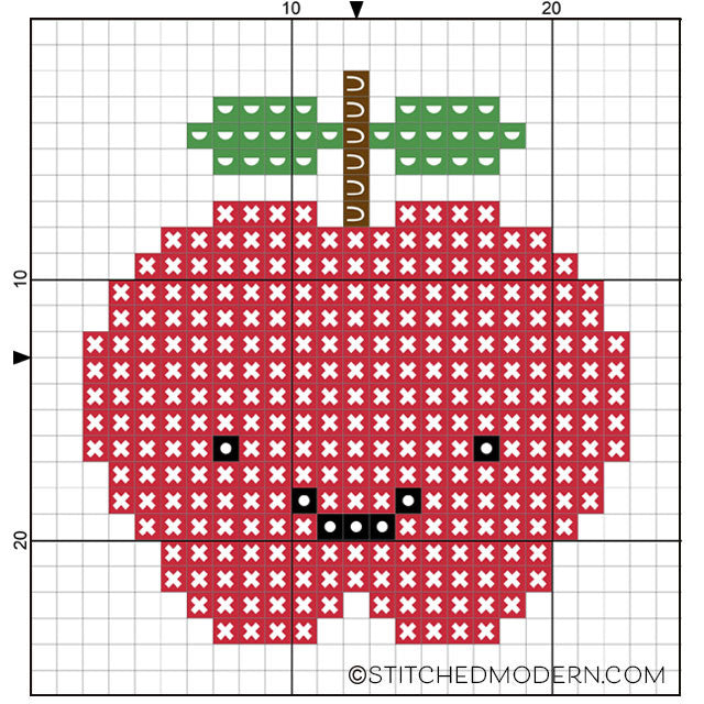 picture about Apple Pattern Printable titled No cost behavior: Kawaii cross sch apple Sched Impressive