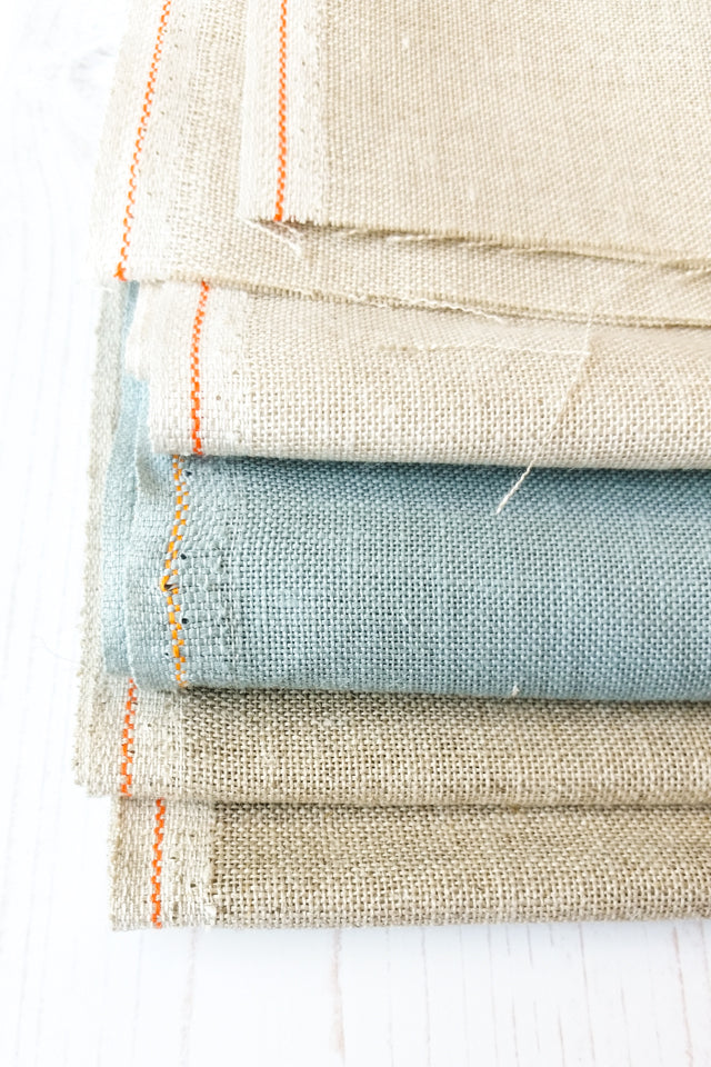 linen fabric for cross stitch and embroidery