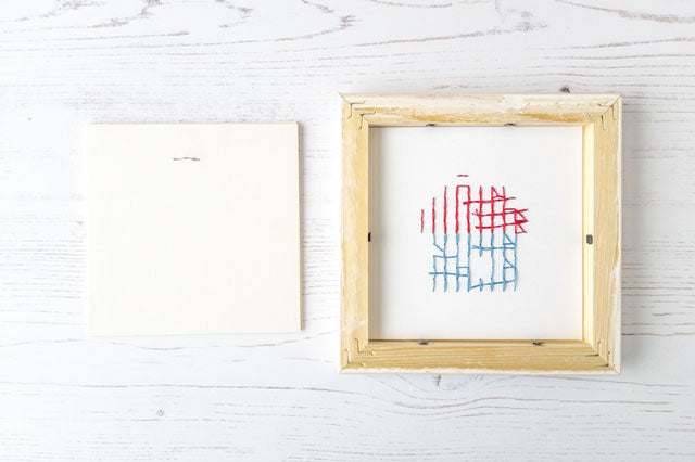 How to frame cross stitch on paper