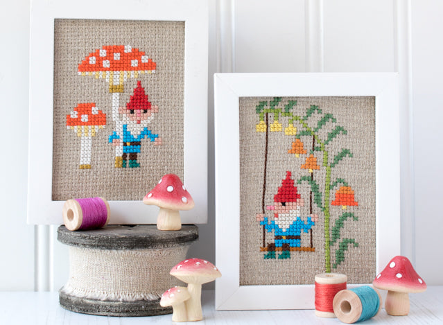 How to frame cross stitch and embroidery using sticky board for a flat finish