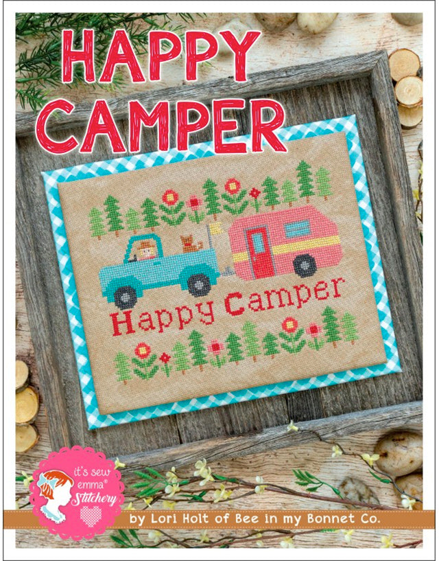 Lori Holt Vintage Happy Camper Cross Stitch pattern