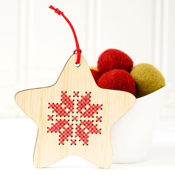 Scandinavian Star Holiday Ornament Kit