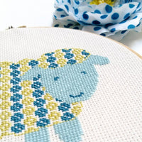Sheep Cross Stitch Kit