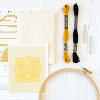 Beehive Cross Stitch Kit