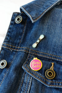 Mini Floss Skein Enamel Pin