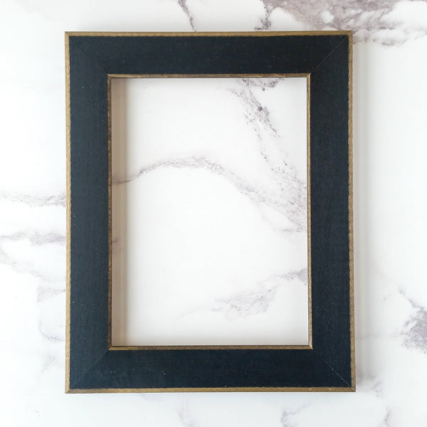 Matte Black Wood Frame for Cross Stitch and Embroidery - 6