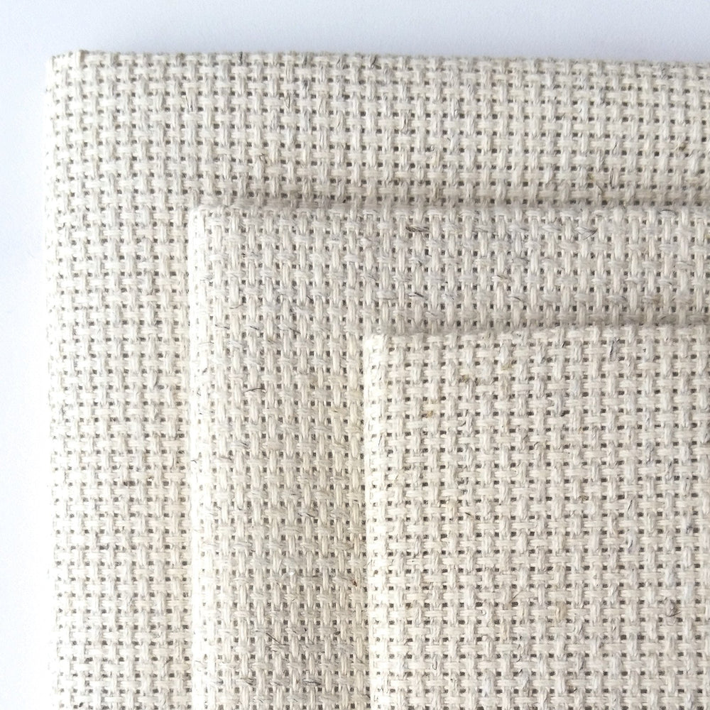 Lite Oatmeal Fiddler's Cloth Aida Cross Stitch Fabric