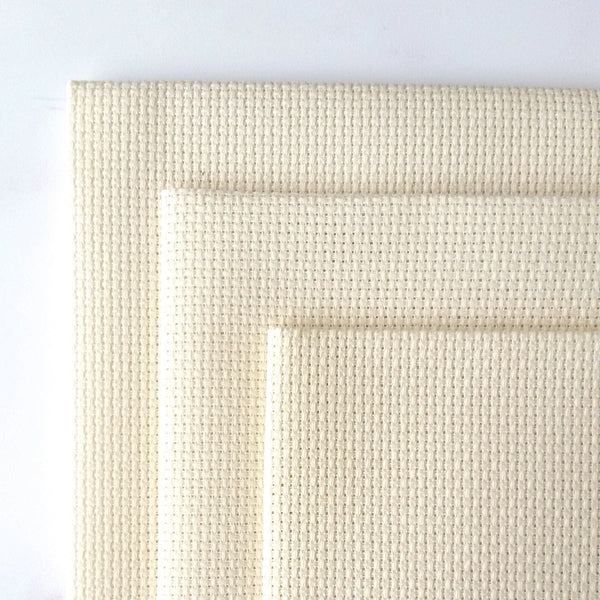 Ivory Aida Cross Stitch Fabric