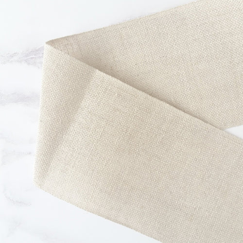 Natural Linen Stitching Band - 3.5 inches