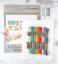 Kitchen Gadgets Cross Stitch Pattern