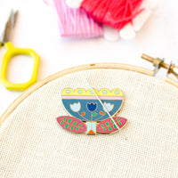 Folk Art Tulip Needle Minder