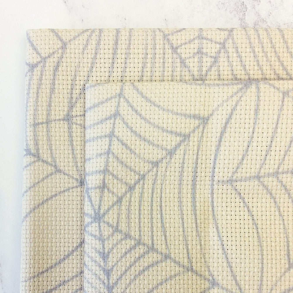 Cobweb Aida Cross Stitch Fabric